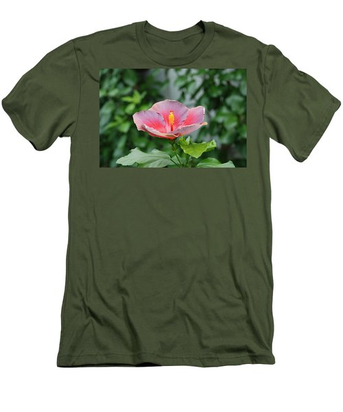 Men's T-Shirt (Slim Fit) featuring the photograph Unusual Flower by Jennifer Ancker