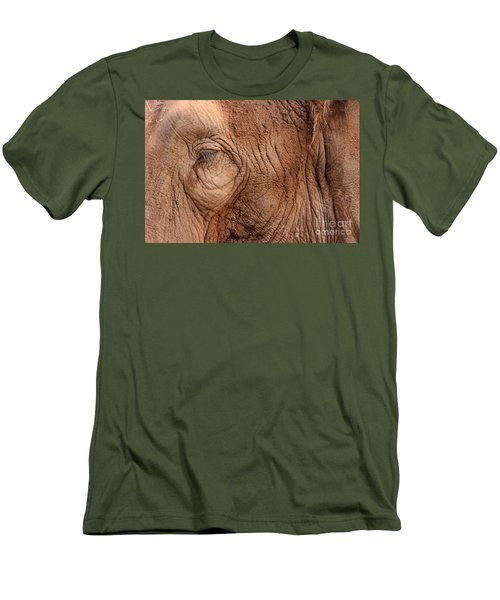 Up Close And Personal Men's T-Shirt (Slim Fit) by Mary Mikawoz