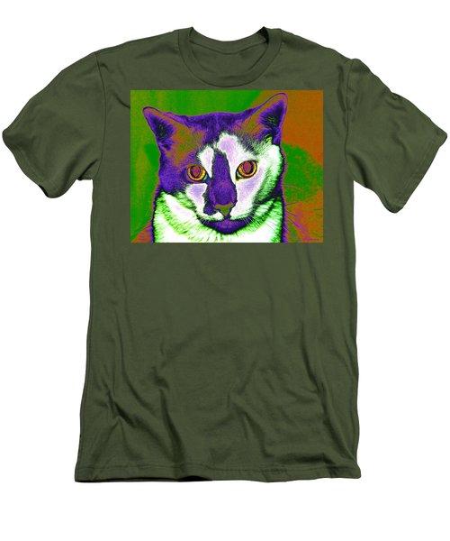 Van Gogh Ghosty Men's T-Shirt (Athletic Fit)