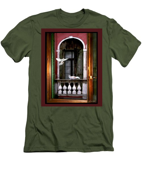 Venice Window Men's T-Shirt (Athletic Fit)