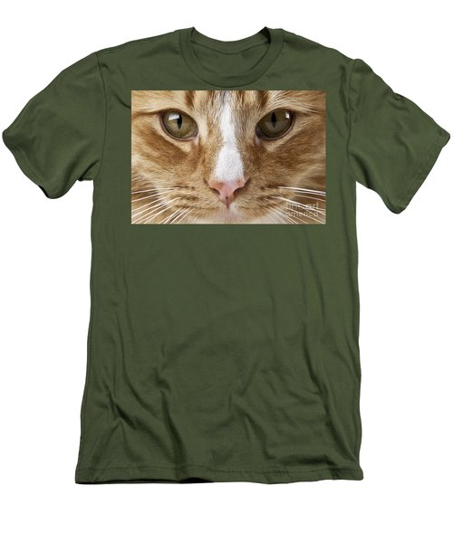 Watching And Waiting Men's T-Shirt (Slim Fit) by Jeannette Hunt