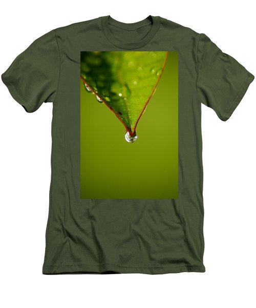 Waterdrop Men's T-Shirt (Athletic Fit)