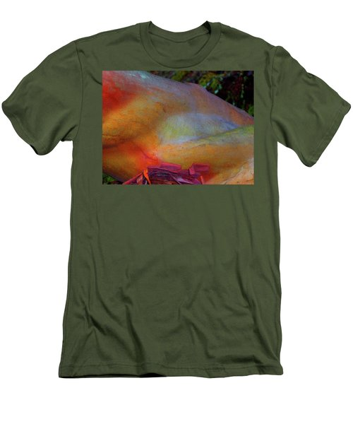 Men's T-Shirt (Slim Fit) featuring the digital art Wonder by Richard Laeton