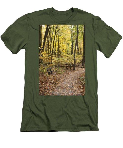 Woodland Respite Men's T-Shirt (Athletic Fit)