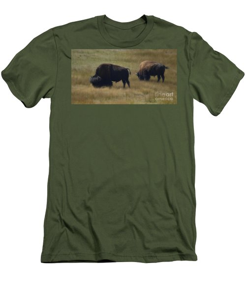 Wyoming Buffalo Men's T-Shirt (Athletic Fit)
