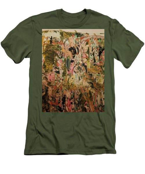 Men's T-Shirt (Slim Fit) featuring the painting  A Taste Of Italy by Nancy Kane Chapman