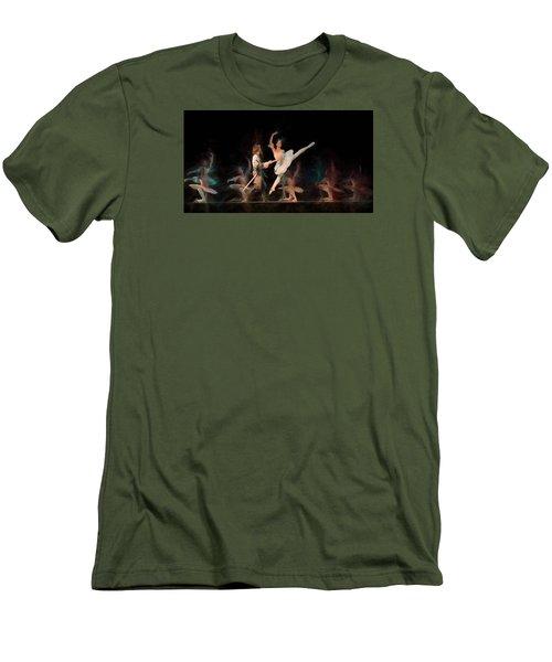 Ballerina  Men's T-Shirt (Slim Fit) by Louis Ferreira