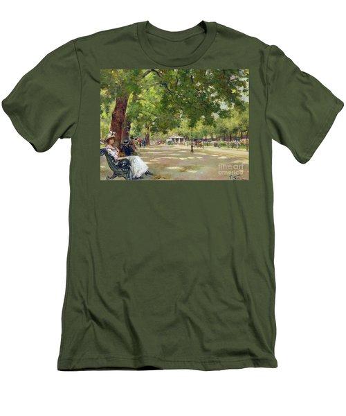 Hyde Park - London Men's T-Shirt (Athletic Fit)