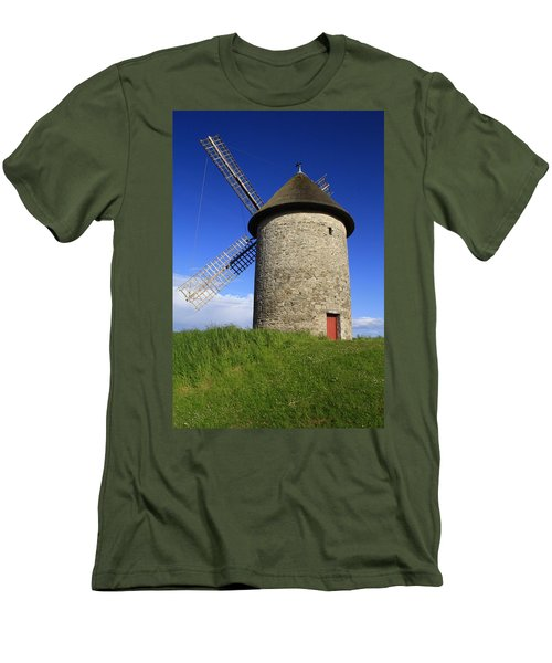 The Old Mill Men's T-Shirt (Slim Fit) by Martina Fagan