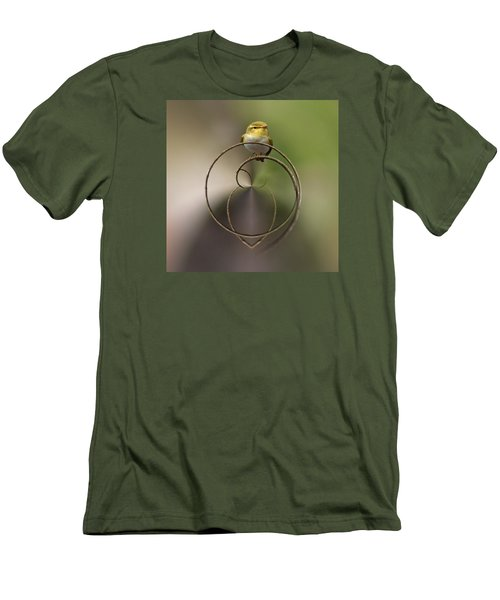 Wood Warbler Men's T-Shirt (Slim Fit) by Jouko Lehto