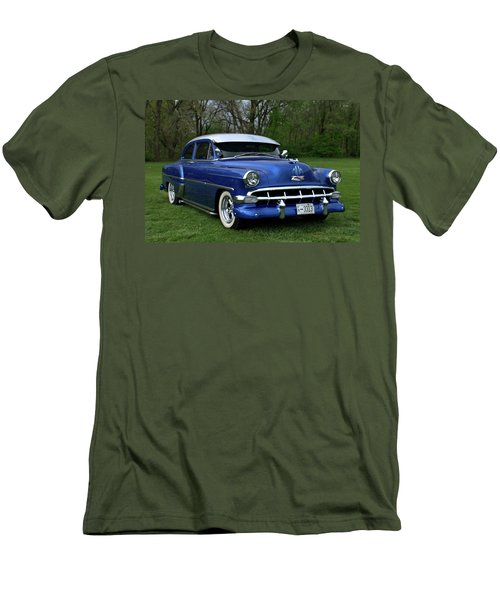 1954 Chevrolet Street Rod Men's T-Shirt (Slim Fit) by Tim McCullough