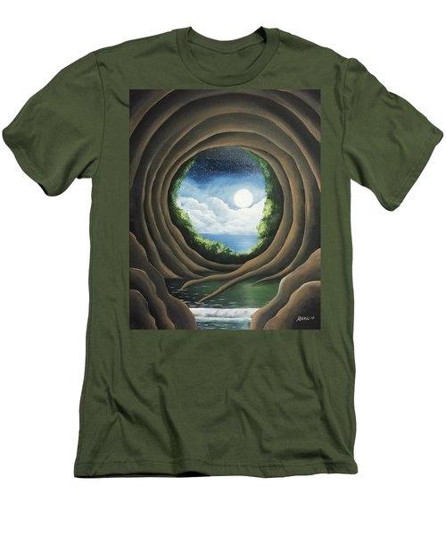 After The Storm Men's T-Shirt (Slim Fit) by Edwin Alverio