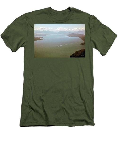 Men's T-Shirt (Slim Fit) featuring the photograph Alaska The Beautiful by Madeline Ellis