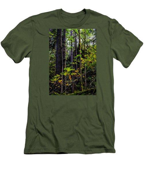All Lit Up Men's T-Shirt (Slim Fit) by Ronda Broatch