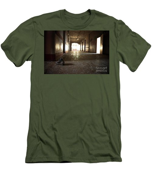 Men's T-Shirt (Slim Fit) featuring the photograph Alone by Randall Cogle