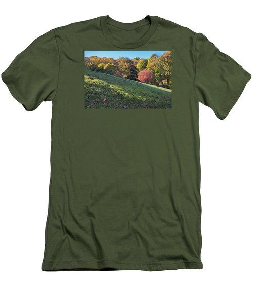 Men's T-Shirt (Slim Fit) featuring the photograph Autumn Palette by Tom Singleton