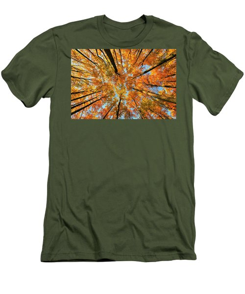 Beneath The Canopy Men's T-Shirt (Slim Fit) by Edward Kreis