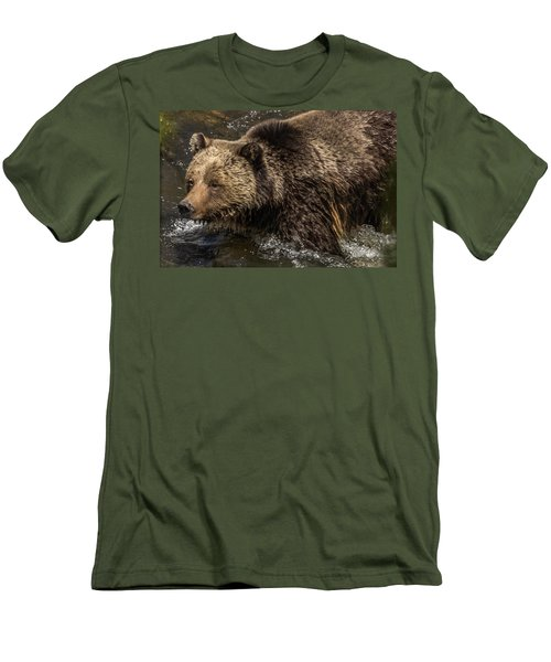 Beryl Springs Sow In The River Men's T-Shirt (Athletic Fit)