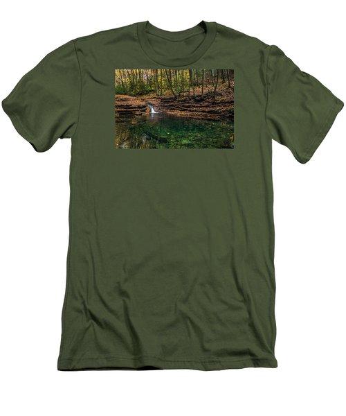 Blue Ridge Cascade Men's T-Shirt (Athletic Fit)