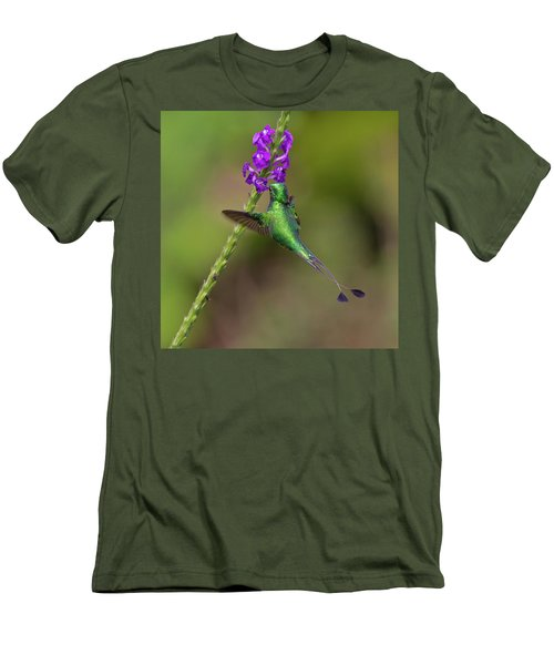 Booted Racket-tail Men's T-Shirt (Athletic Fit)