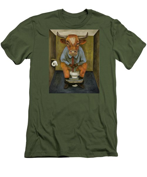 Bull Shitter Men's T-Shirt (Athletic Fit)