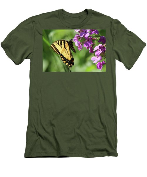 Butterfly Men's T-Shirt (Slim Fit) by David Stasiak