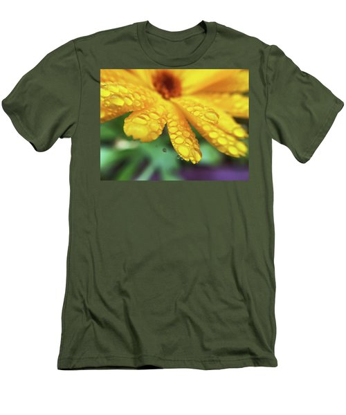 Calendula Officinalis Men's T-Shirt (Athletic Fit)