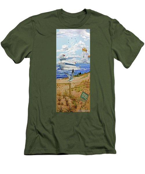 Captree Park Men's T-Shirt (Athletic Fit)