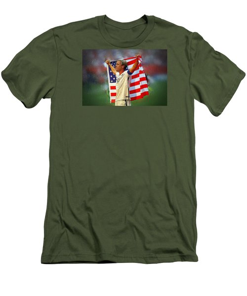 Abby Wambach Men's T-Shirt (Athletic Fit)