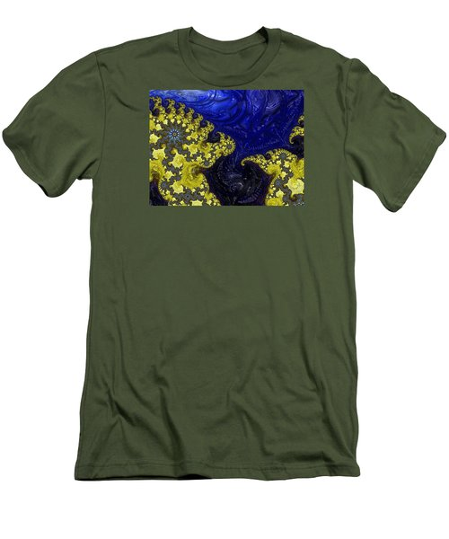 Men's T-Shirt (Slim Fit) featuring the photograph Celestial Storm by Ronda Broatch