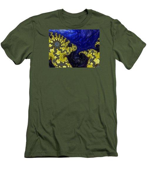 Celestial Storm Men's T-Shirt (Athletic Fit)