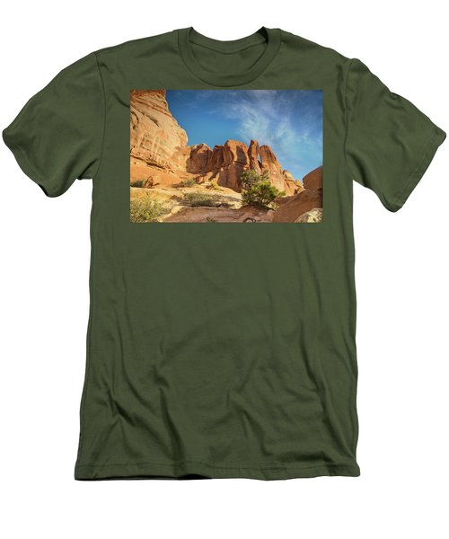 Chesler Sunset Men's T-Shirt (Athletic Fit)