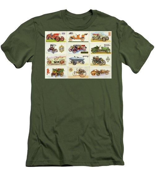 Collage  Men's T-Shirt (Athletic Fit)