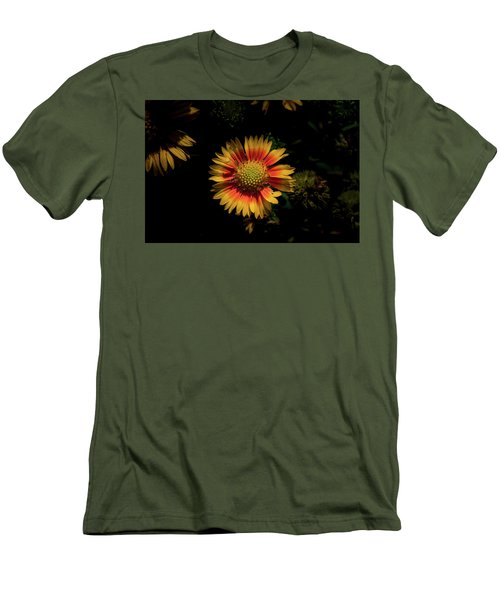 Men's T-Shirt (Slim Fit) featuring the photograph Coneflower by Jay Stockhaus