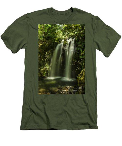 Cool Down Men's T-Shirt (Slim Fit) by Nick Boren