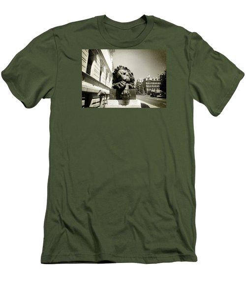 Corcoran Lion Men's T-Shirt (Athletic Fit)