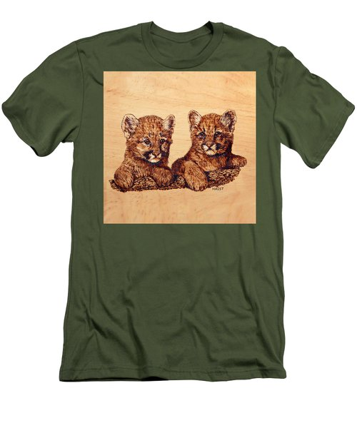 Cougar Cubs Men's T-Shirt (Athletic Fit)