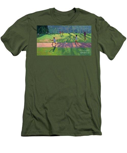 Cricket Sri Lanka Men's T-Shirt (Slim Fit) by Andrew Macara