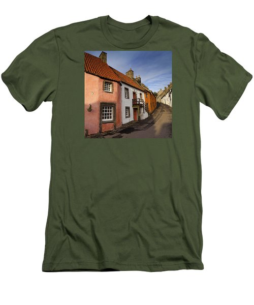 Men's T-Shirt (Slim Fit) featuring the photograph Culross by Jeremy Lavender Photography