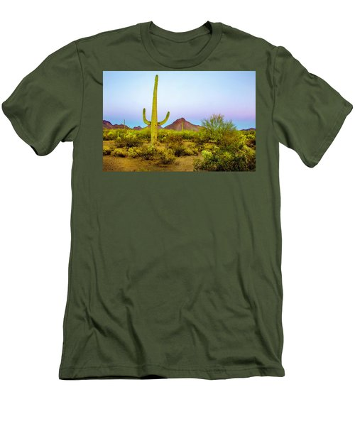 Desert Beauty Men's T-Shirt (Slim Fit) by Barbara Manis
