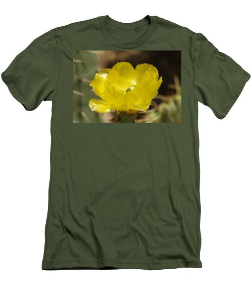 Desert Flower Men's T-Shirt (Athletic Fit)