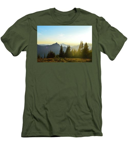 Dickerman Sunset Men's T-Shirt (Athletic Fit)