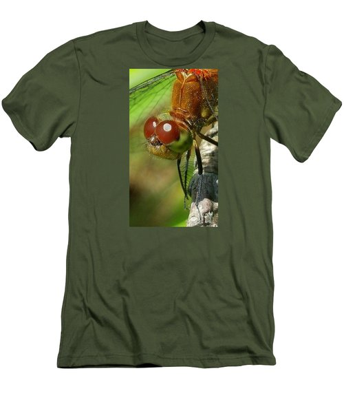 Dragonfly Men's T-Shirt (Slim Fit) by Bruce Carpenter