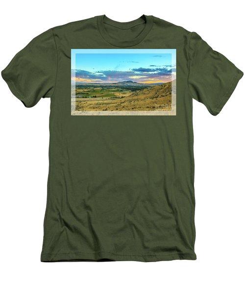Emmett Valley Men's T-Shirt (Slim Fit) by Robert Bales