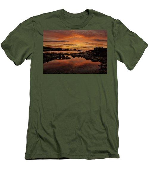 Evenings End Men's T-Shirt (Slim Fit) by Roy McPeak