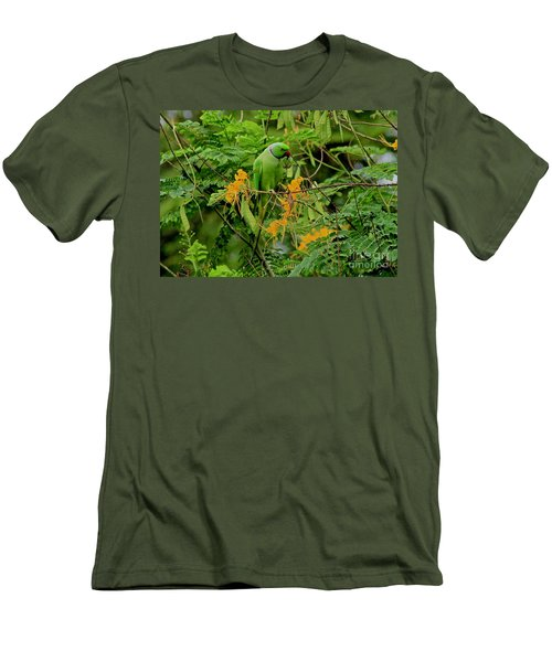 Feeding Men's T-Shirt (Athletic Fit)