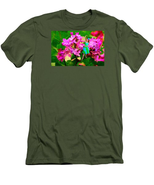 Flower Fairy  Men's T-Shirt (Athletic Fit)