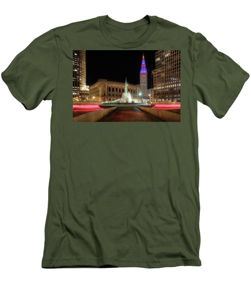 Men's T-Shirt (Slim Fit) featuring the photograph  Fountain Of Eternal Life by Brent Durken