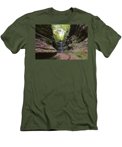 French Canyon Men's T-Shirt (Athletic Fit)