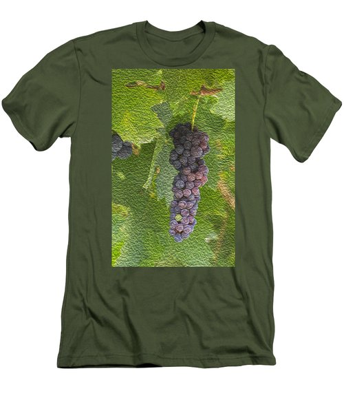 Grape Fruit Men's T-Shirt (Athletic Fit)
